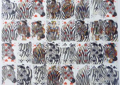 Zebras-streifen